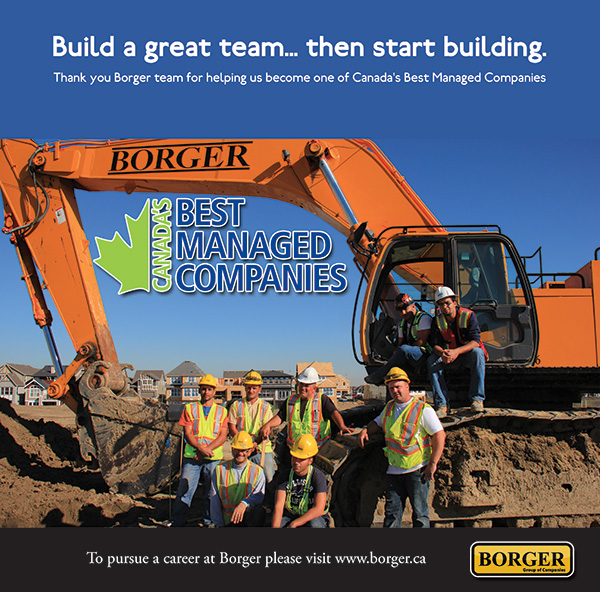 Borger Construction Calgary PR