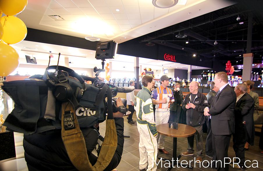 Calgary Public Relations Century Downs TV Interviews